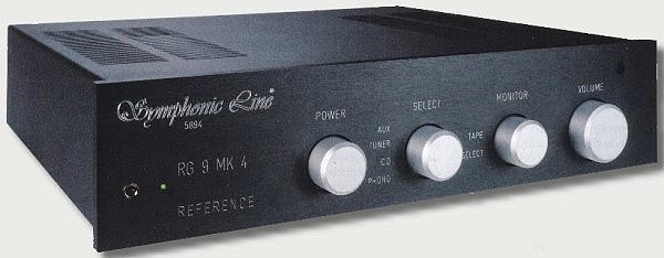 Symphonic Line RG9 MK4 Reference HD   Transistor-Verstärker   Vollverstärker   Hifi-Elektronik   Justhifi