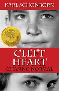 cover image for Cleft Heart, the first memoir about the cleft palate experience