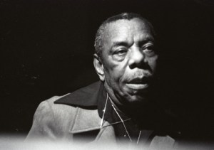 Bust shot of jazz singer Jack Dupree