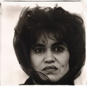 Puerto Rican Woman photographed by Diane Arbus