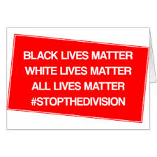 """Sign saying """"Bullying & Police misconduct cost lives."""""""