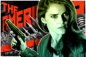 "Villain Keri Russell in ""The Americans"""