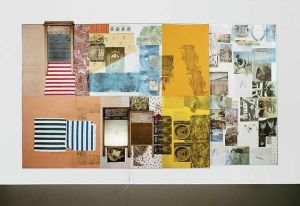 collage by Robert Rauschenberg titled Palladian Xmas