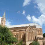 Huge pinkish Anglican Cathedral