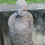 Memorial to slaves.