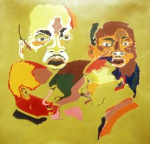5 head portraits of Martin Luther King, Jr.