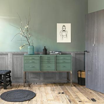 vtwonen fotobehang lambrisering grijs dessin 89354 kopen