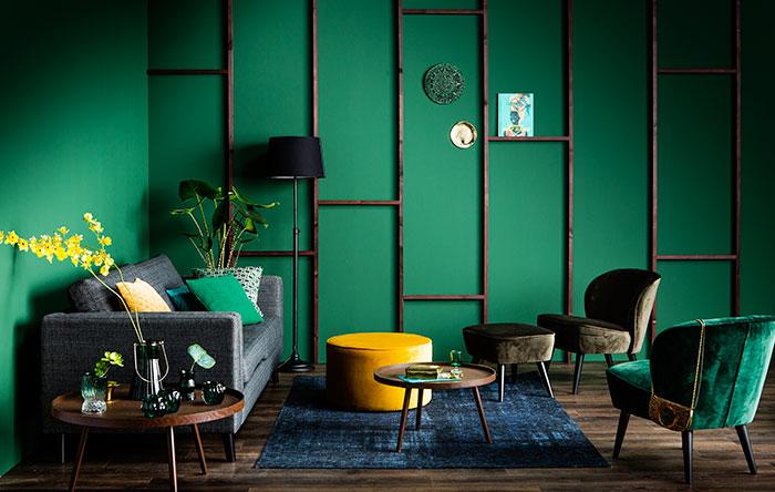 Groene vakkenwand  Bekijk het klusadvies  KARWEI