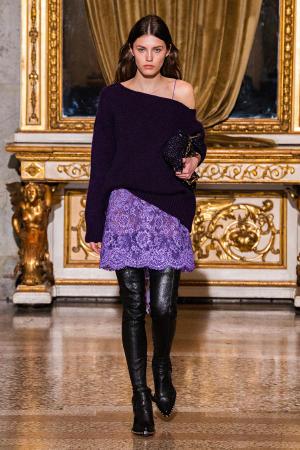 Ermanno Scervino: Ermanno Scervino Fall Winter 2021-22 Fashion Show Photo #24