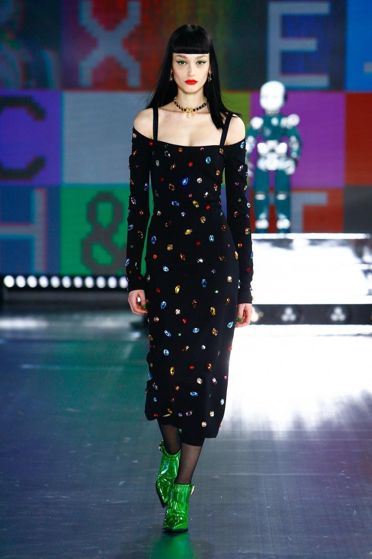 Dolce & Gabbana: Dolce & Gabbana Fall Winter 2021-22 Fashion Show Photo #20