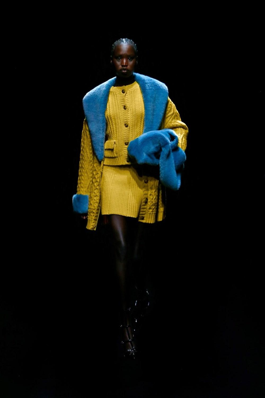 Blumarine: Blumarine Fall Winter 2021-22 Fashion Show Photo #28