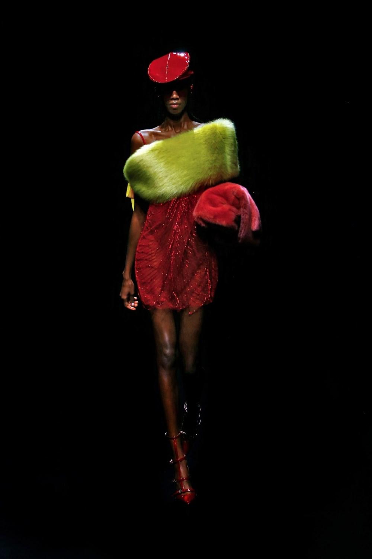Blumarine: Blumarine Fall Winter 2021-22 Fashion Show Photo #27
