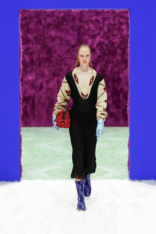 Prada: Prada Fall Winter 2021-22 Fashion Show Photo #5