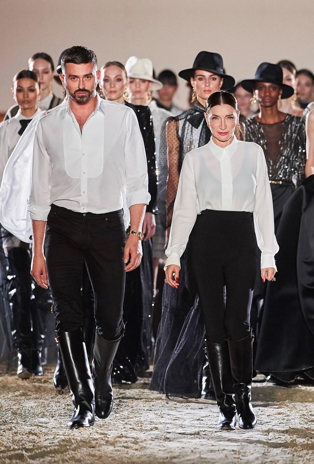 Elisabetta Franchi: Elisabetta Franchi Fall Winter 2021-22 Fashion Show Photo #62