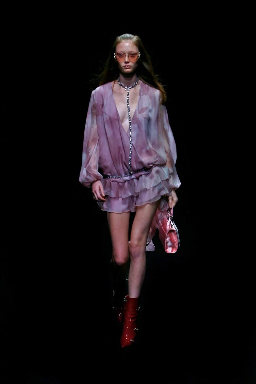 Blumarine: Blumarine Fall Winter 2021-22 Fashion Show Photo #26