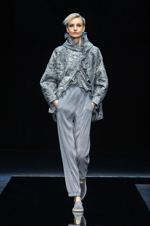 Armani: Giorgio Armani Fall Winter 2021-22 Fashion Show Photo #28