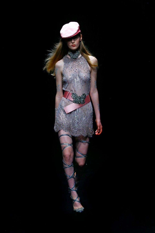 Blumarine: Blumarine Fall Winter 2021-22 Fashion Show Photo #10