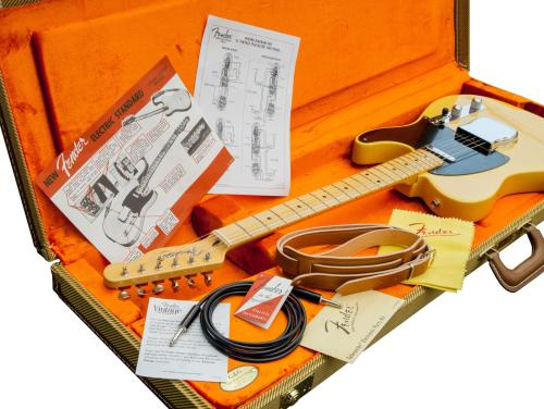 small resolution of  fender american vintage 52 tele butterscotch blonde upgr electric guitar