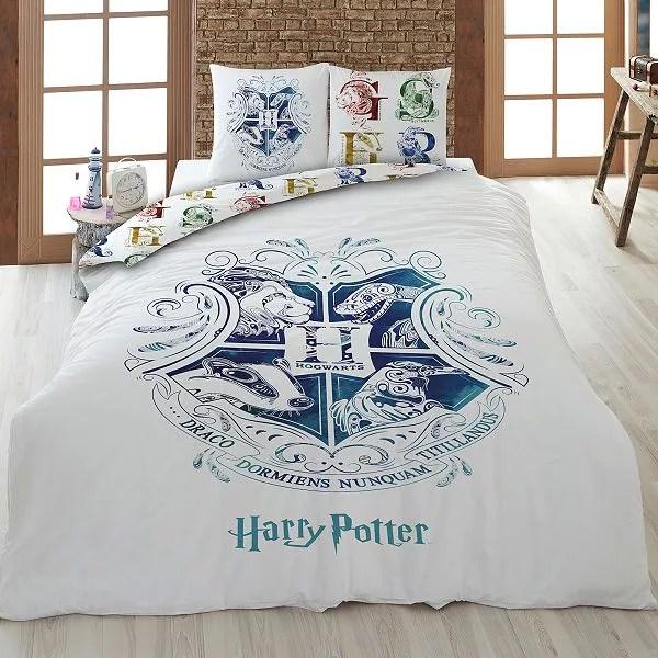parure de lit 2 personnes harry potter