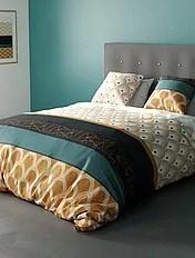 parure de lit imprime linge de maison