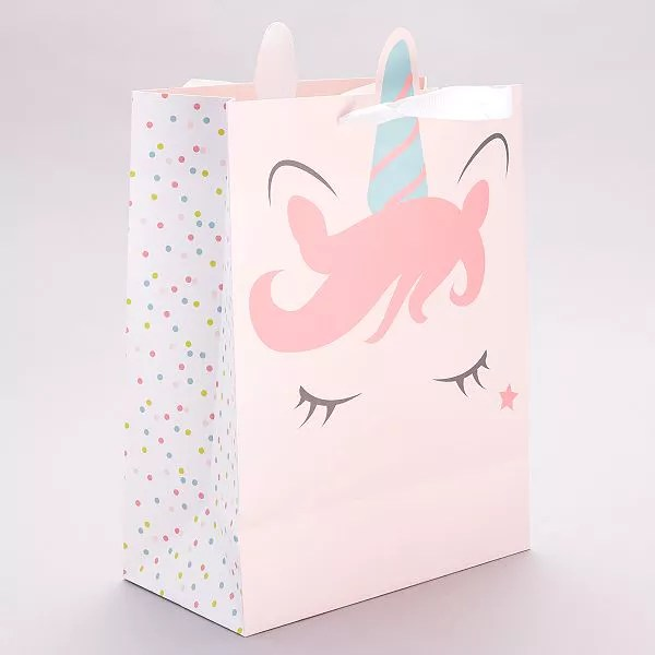 sac cadeau licorne