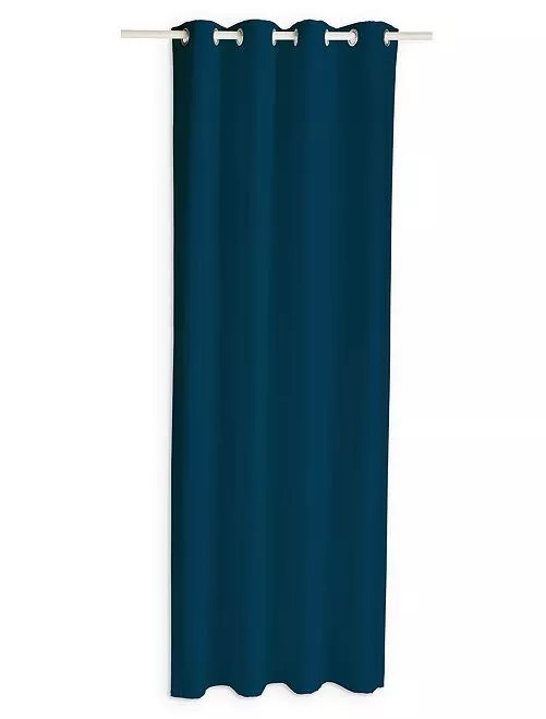 Cortina opaca Hogar  azul marino  Kiabi  1999