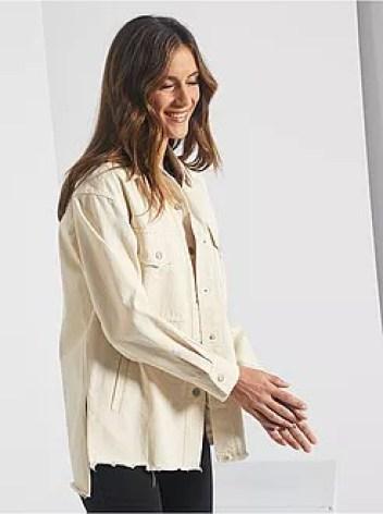 Giacca camicia in denim - Kiabi