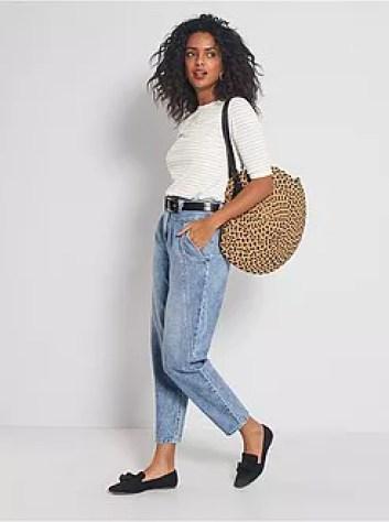 Jeans mom fit a vita alta - Kiabi