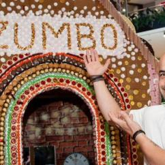 Kitchen Signs For Work Wallpaper Backsplash Adriano Zumbo's Giant Gingerbread House In Westfield ...