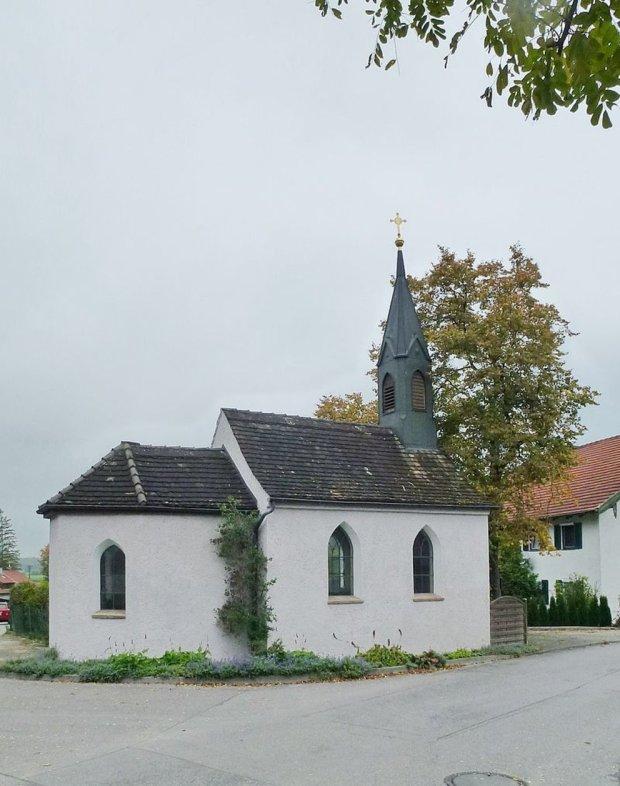 Die ehemalige Pestkapelle in Weilheim © Zugroaster / Wiki