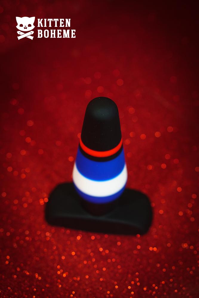 Blush Novelties Pride P4 Silicone Butt Plug
