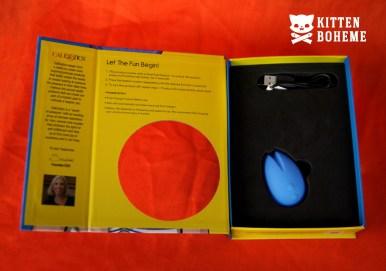CalExotics Silicone Marvelous EggCiter Vibrator Inner Packaging