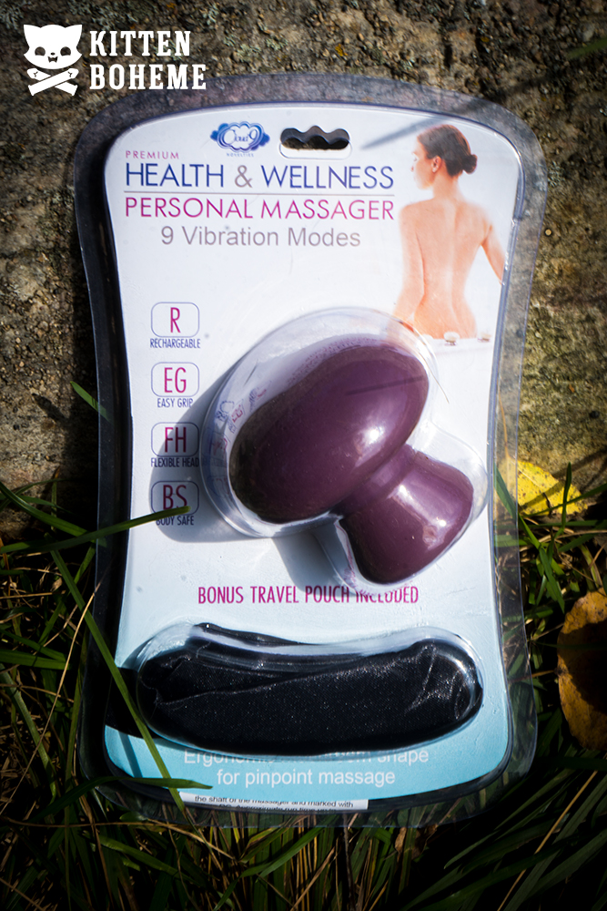 Cloud 9 Mushroom Massager Packaging