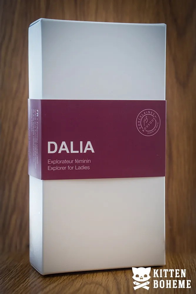 Désirables Dalia Porcelain Dildo Packaging