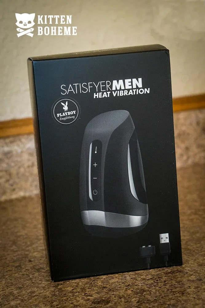 Satisfyer Men Heat & Vibration Packaging