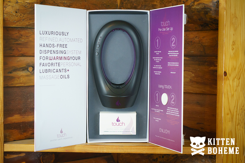 Touch Automated Lube and Massage Oil Warmer by Warm Inner Packaging