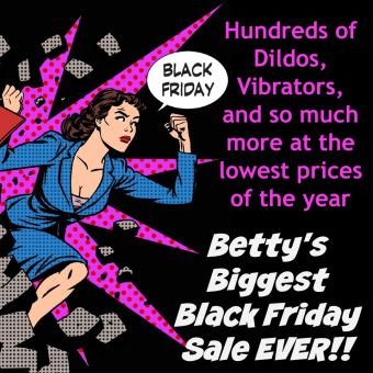 Betty's Toy Box Biggest Black Friday Sale Ever