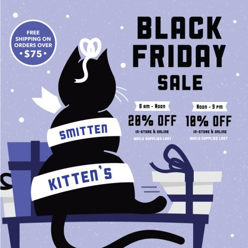 Smitten Kitten Black Friday Sale