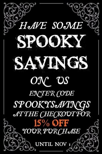 Betty's Toy Box Spooky Savings Sale Halloween