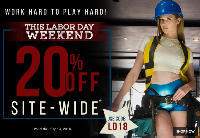Work Hard Play Hard Labor Day Sale