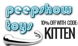 Peepshow Toys KittenBoheme.com Readers Discount