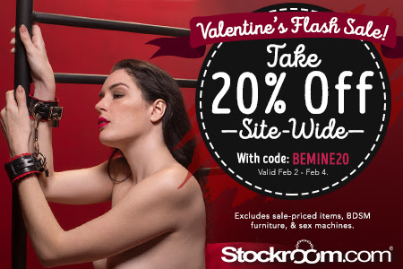 Stockroom Toys Valentine's Day Flash Sale