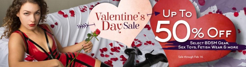 Stockroom Valentine's Day Sale 2018
