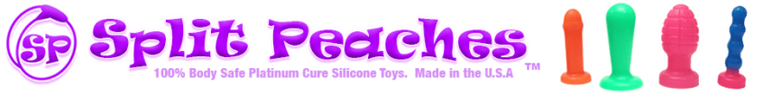 Split Peaches Online Sex Toy Retailer Banner