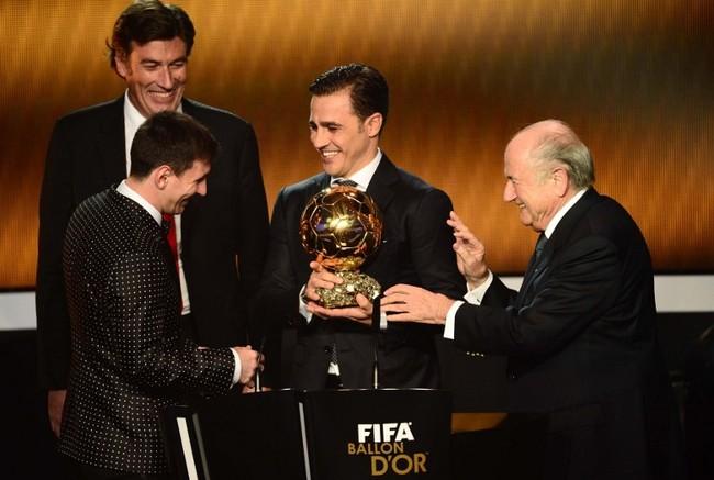 Lionel Messi četvrti put zaredom najbolji nogometaš svijeta