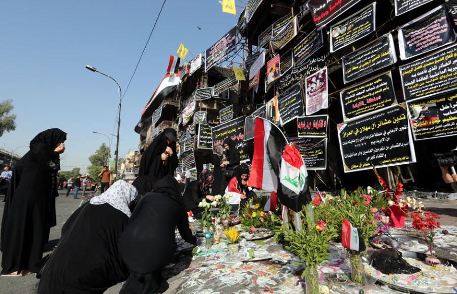Mjesto julskog napada u Bagdadu (Foto: EPA)