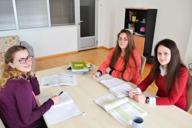 Adisa Bolić, Elma Nuhanović i Lejla Skelić
