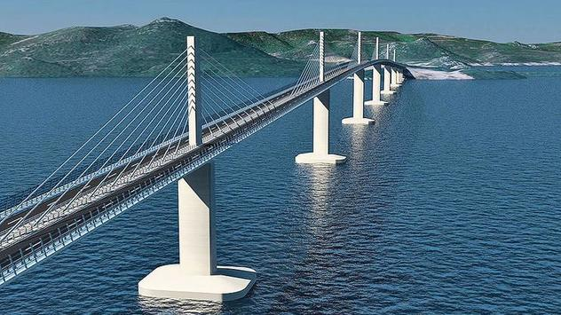 Pelješki most (Foto: Klix.ba)