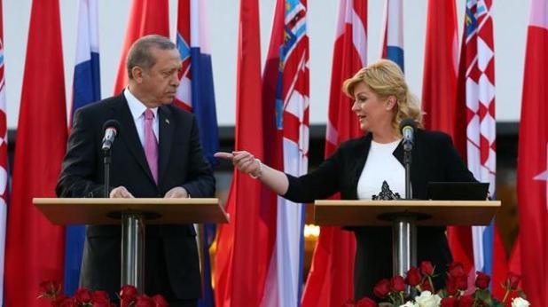 Erdogan i Grabar-Kitarević (Foto: Klix.ba)