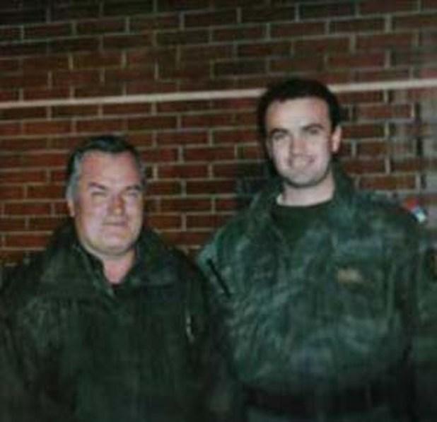 Ratko Mladić i Milan Jolović u Zvorniku 1995. (Foto: Klix.ba)
